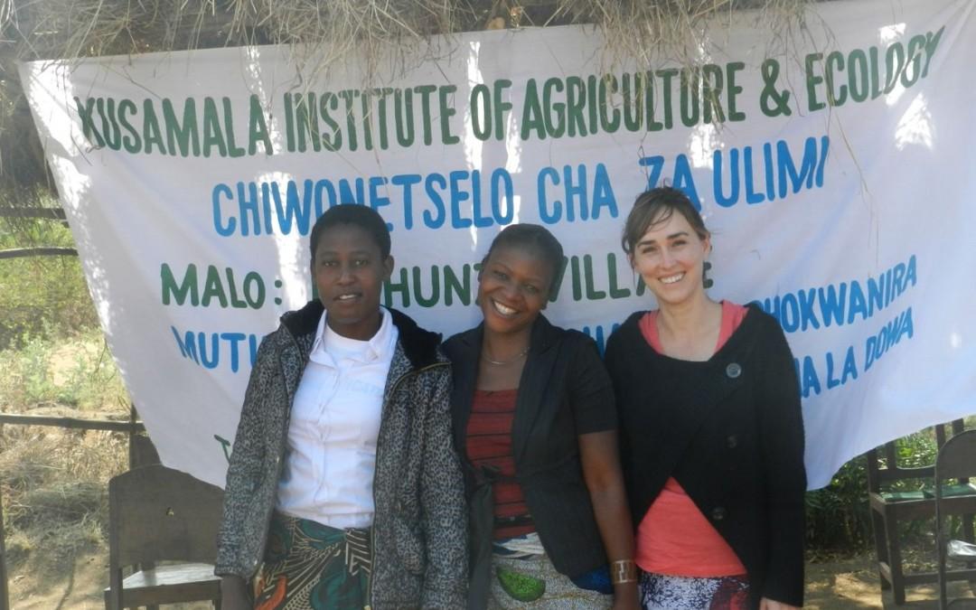 Farmers in Dowa Celebrate the First Farmer Field Day